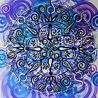 Mandala : Purple Passion by danita clark