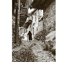 Stede walking home Photographic Print