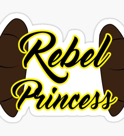 Rebel Princess Sticker