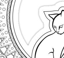 Luna Cat Sticker