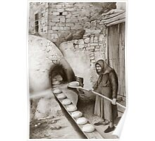 The villager baker Poster