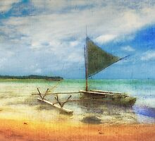 Organic Island Boat by Clare Colins