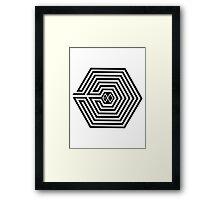 Exo OVERDOSE K Framed Print