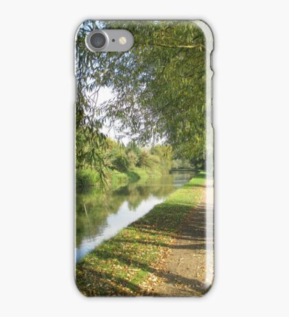 Autumn Towpath iPhone Case/Skin