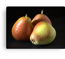 Reach for a Pear Canvas Print