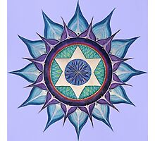 Mandala : Blooming Star Photographic Print