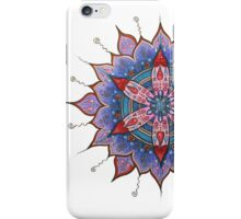 Mandala : Red Heart Passion iPhone Case/Skin