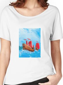 Chinese Ships Women's Relaxed Fit T-Shirt
