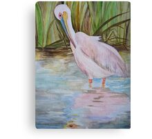 PELICAN - improvement ... Canvas Print