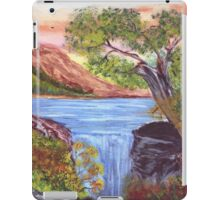 Mountain Lake Waterfall  iPad Case/Skin