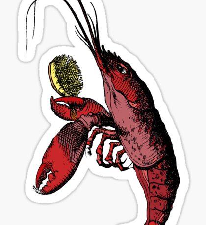 Lobster Quadrille Sticker