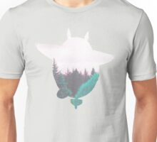 Totoro Atop the Dreamland Forest Unisex T-Shirt