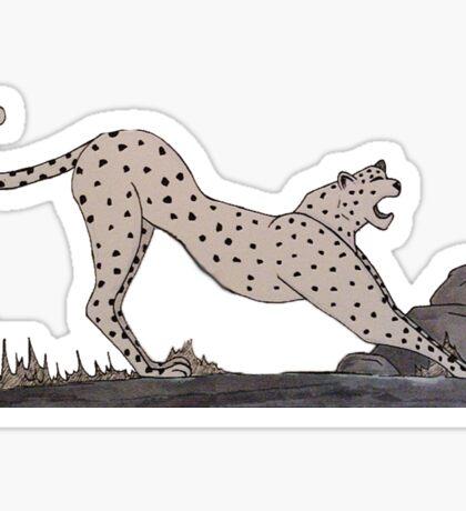 C for Cheetah - Alphabetical Animals Sticker