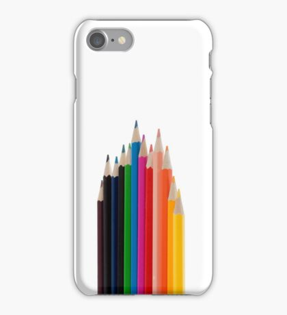 Colouring pencils iPhone Case/Skin