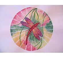 Mandala : Dragonfly Dreams Photographic Print