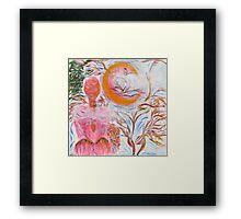 Pink Moon. Framed Print