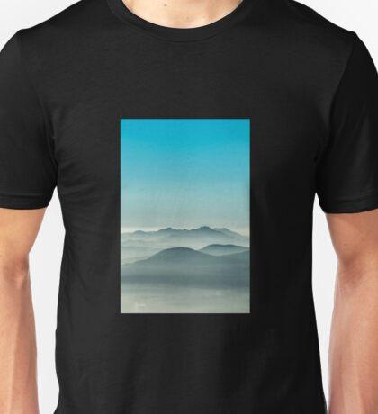 Layers of Blue fog Unisex T-Shirt