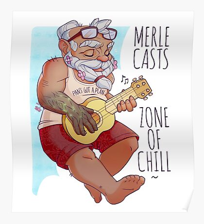 Merle - The Adventure Zone Poster