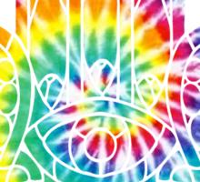 Tie Dye Hamsa Sticker