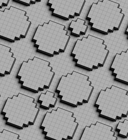 Voxel Pattern Sticker