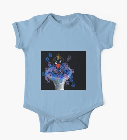 Who put soap in the bird bath? One Piece - Short Sleeve