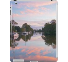 Pink sky sunset.  iPad Case/Skin