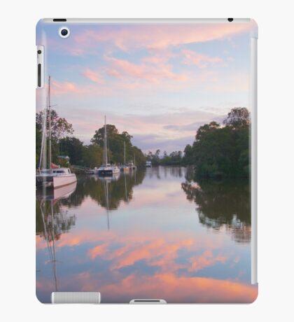 Pink sky sunset.  iPad Case/Skin