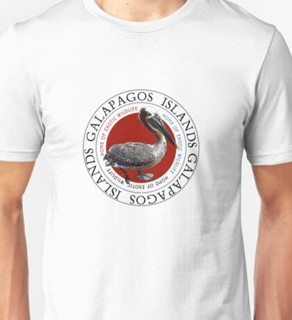 Galapagos Islands Pelican Unisex T-Shirt