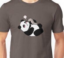 Panda's Best Friend Unisex T-Shirt
