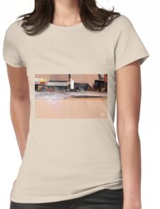 Cityscape 3 Womens Fitted T-Shirt