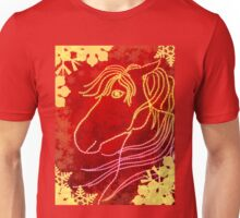 Horse shaped dots Unisex T-Shirt