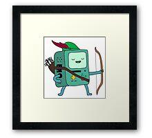 BMO Robin Hood Framed Print