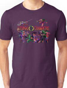 Eternal Champions (Genesis Title Screen) Unisex T-Shirt