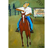 The Fifth Horseman Photographic Print