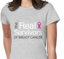 Real Survivors of Breast Cancer Womens Fitted T-Shirt