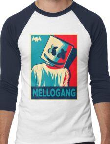 Marshmello Mellogang Men's Baseball ¾ T-Shirt