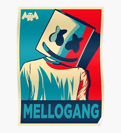 Marshmello Mellogang Poster
