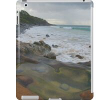 Sandstone rock-pool. Granite Bay. iPad Case/Skin