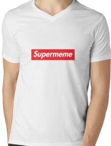Supermeme Mens V-Neck T-Shirt