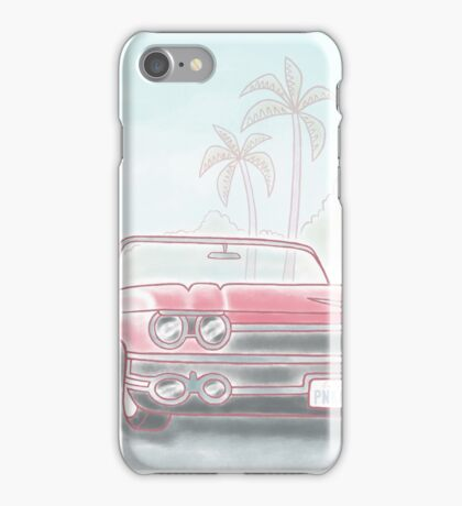 California Cadillac  iPhone Case/Skin