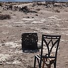 Campfire seating by chibiphoto