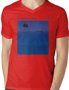 The Mysterious Island - Jules Verne Mens V-Neck T-Shirt