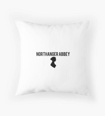 Northanger Abbey Jane Austen Throw Pillow