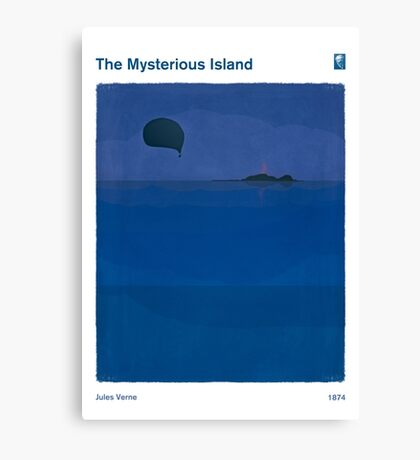 The Mysterious Island - Jules Verne Canvas Print
