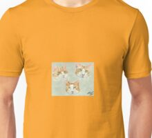 Three ginger cats Unisex T-Shirt