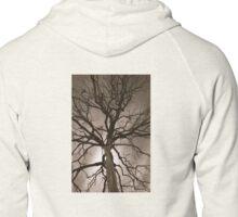 Spooky Tree Zipped Hoodie