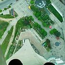 Through the Glass Floor in CN Tower by AnnDixon