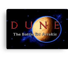 Dune 2 (Genesis Title Screen) Canvas Print