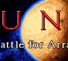 Dune 2 (Genesis Title Screen) Sticker