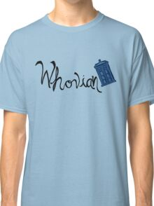 Whovian - Dr. Who Classic T-Shirt